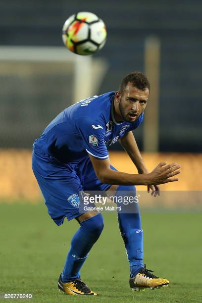Omar El Kaddouri of Empoli Fc in action during the TIM Cup match between Empoli FC and Renate at Stadio Carlo Castellani on August 5 2017 in Empoli...