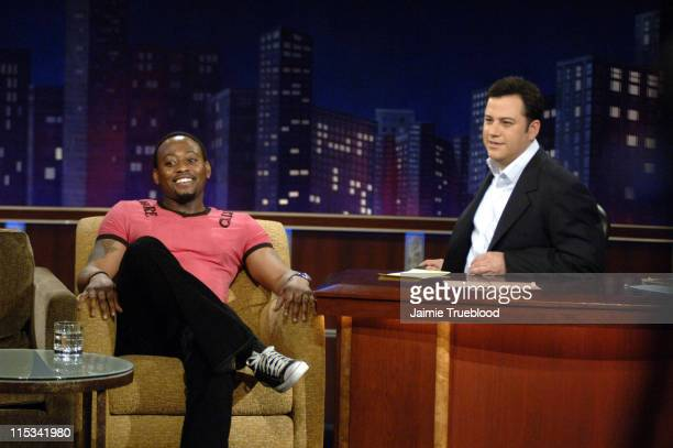 Omar Epps and Host Jimmy Kimmel on the 'Jimmy Kimmel Live' show on ABC Photo by Jaimie Trueblood/WireImage/ABC