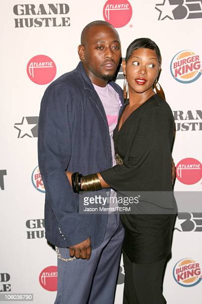 Omar Epps and wife Keisha Epps during Pre2006 BET Awards Party Featuring AllStar Concert with TI and Friends at House of Blues Sunset in West...