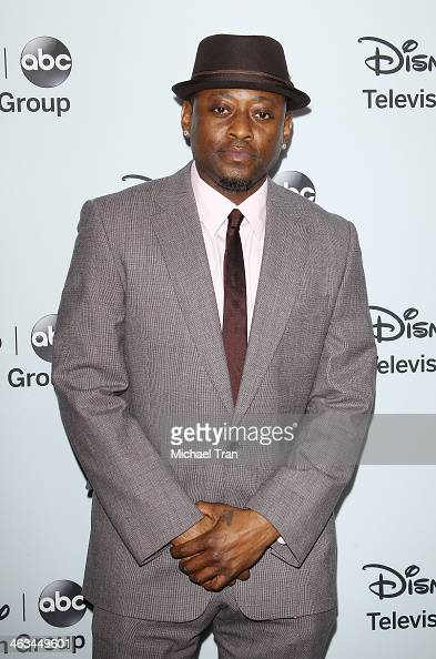 Omar Epps arrives at the ABC/Disney 2014 Winter TCA party held at The Langham Huntington Hotel and Spa on January 17 2014 in Pasadena California