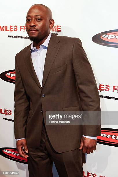 Omar Epps arrives for the 'Miles From Home' DVD release celebrations at SupperClub Los Angeles on March 15 2011 in Los Angeles California