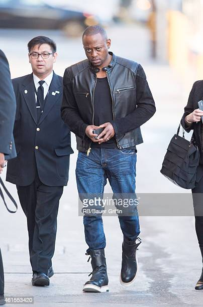Omar Epps is seen at 'Jimmy Kimmel Live' on January 14 2015 in Los Angeles California