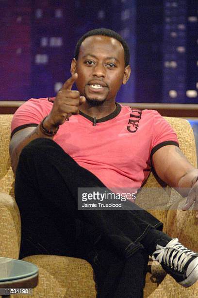 Omar Epps on the 'Jimmy Kimmel Live' show on ABC Photo by Jaimie Trueblood/WireImage/ABC