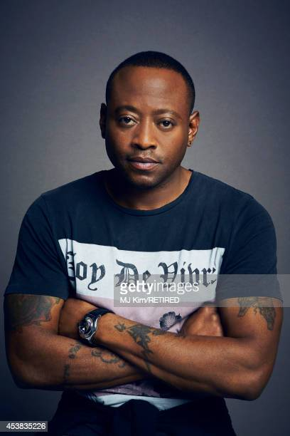 Omar Epps poses for a portrait at the Getty Images Portrait Studio powered by Samsung Galaxy at ComicCon International 2014 on July 24 2014 in San...