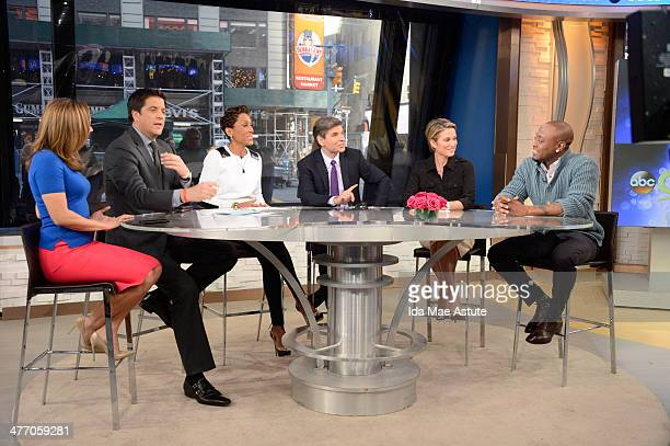AMERICA Omar Epps talks about his new show 'Resurrection' on GOOD MORNING AMERICA 3/6/14 airing on the ABC Television Network GINGER