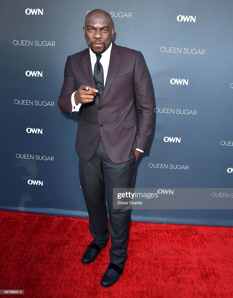 Omar J Dorsey arrives at the Premiere Of OWN's 'Queen Sugar' at Warner Bros Studios on August 29 2016 in Burbank California