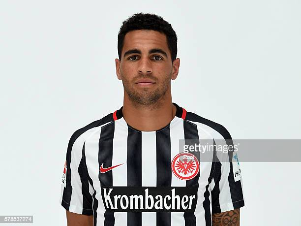 Omar Mascarell poses during the Eintracht Frankfurt Team Presentation on July 21 2016 in Frankfurt am Main Germany