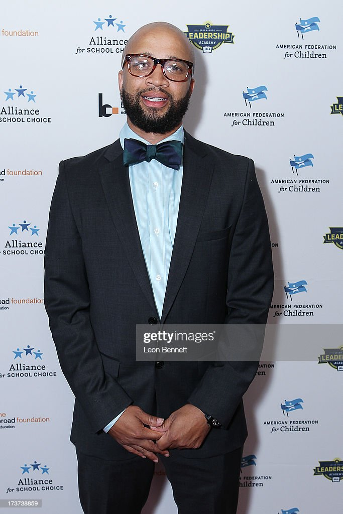 Omar McGee attended The Champions For Choice In Education ESPYs Kickoff Cocktail Party at Ritz Carlton on July 16, 2013 in Los Angeles, California.