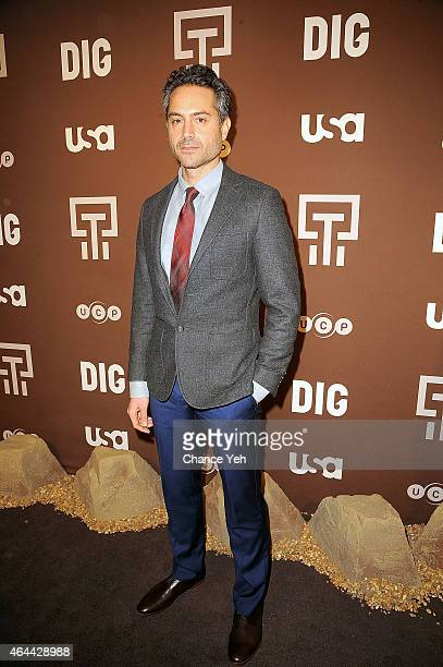 Omar Metwally attends 'Dig' Series New York Premiere at Capitale on February 25 2015 in New York City