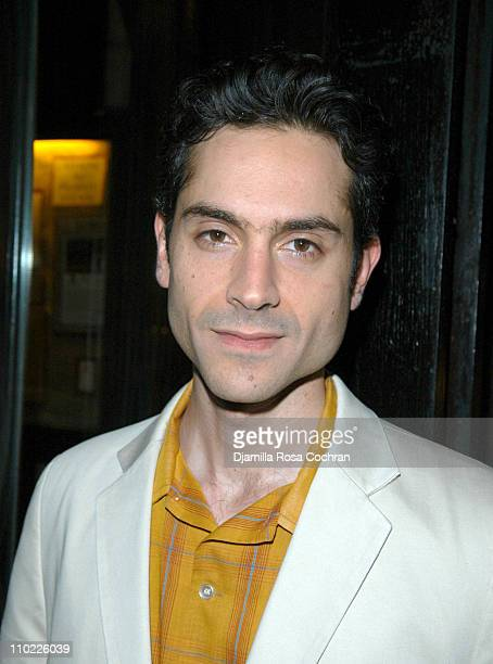 Omar Metwally during 'Beast on the Moon' Play After Party at Candella in New York City New York United States