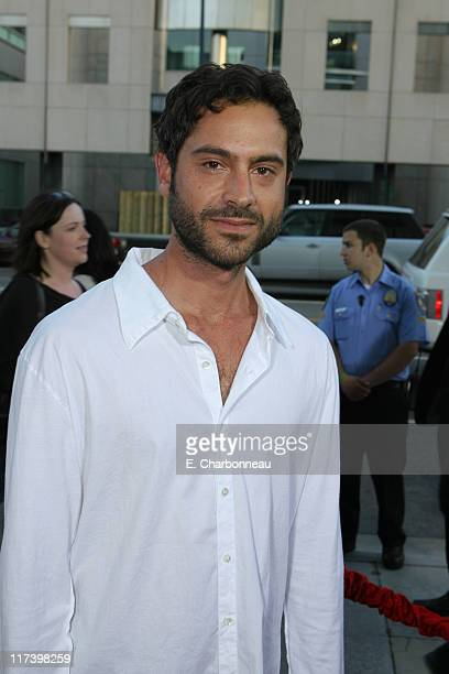 Omar Metwally during The Weinstein Company and Lionsgate Films Present the Los Angeles Screening of 'Sicko' at The Academy of Motion Pictures and...