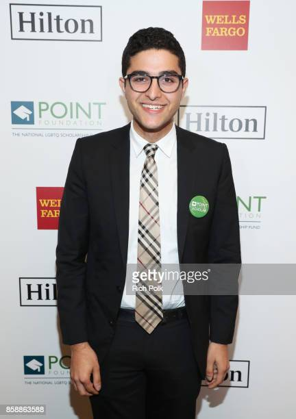 Omar Salman at Point Honors Los Angeles 2017 benefiting Point Foundation at The Beverly Hilton Hotel on October 7 2017 in Beverly Hills California