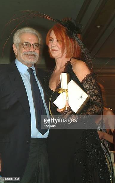Omar Sharif and Prized Marquise Marina Ripa di Meana