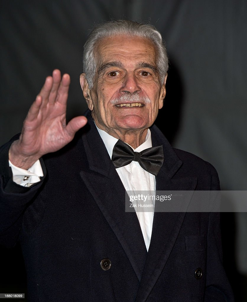 <a gi-track='captionPersonalityLinkClicked' href=/galleries/search?phrase=Omar+Sharif+-+Actor+-+Born+1932&family=editorial&specificpeople=14819978 ng-click='$event.stopPropagation()'>Omar Sharif</a> arrives at the Chain Of Hope Annual Ball at Supernova, Embankment Gardens on November 14, 2013 in London, England.