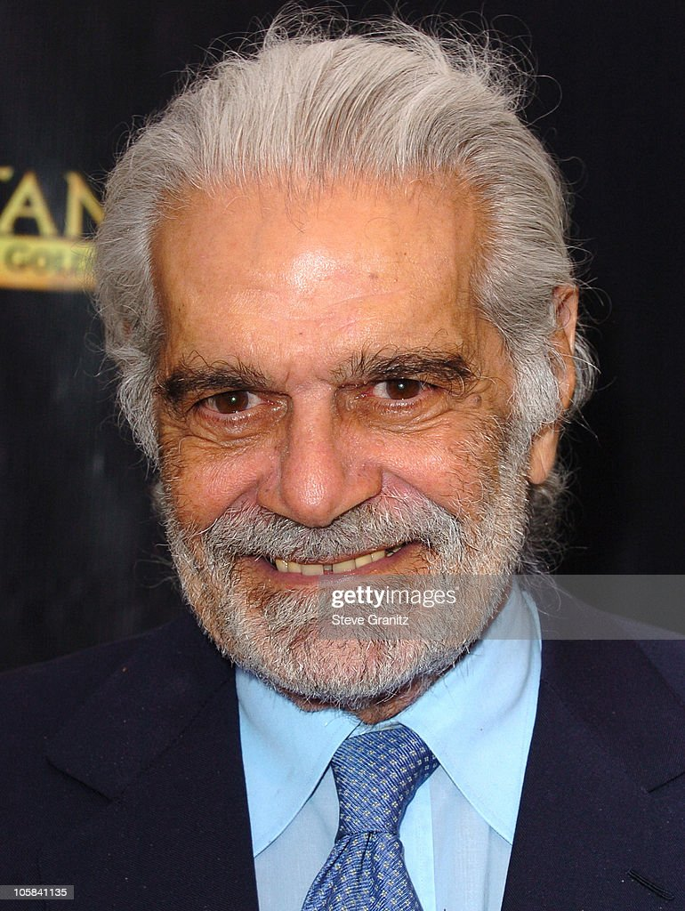 Omar Sharif during 'Tutankhamun and the Golden Age of the Pharaohs' Opening Night Party at LACMA in Los Angeles, California, United States.
