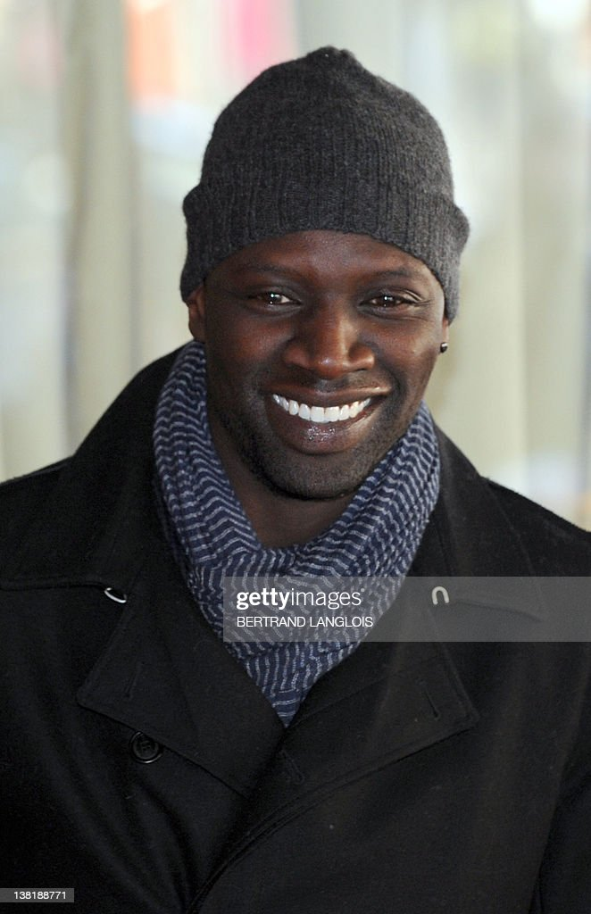 Omar Sy , French actor and Cesars nominee in the best actor category ...