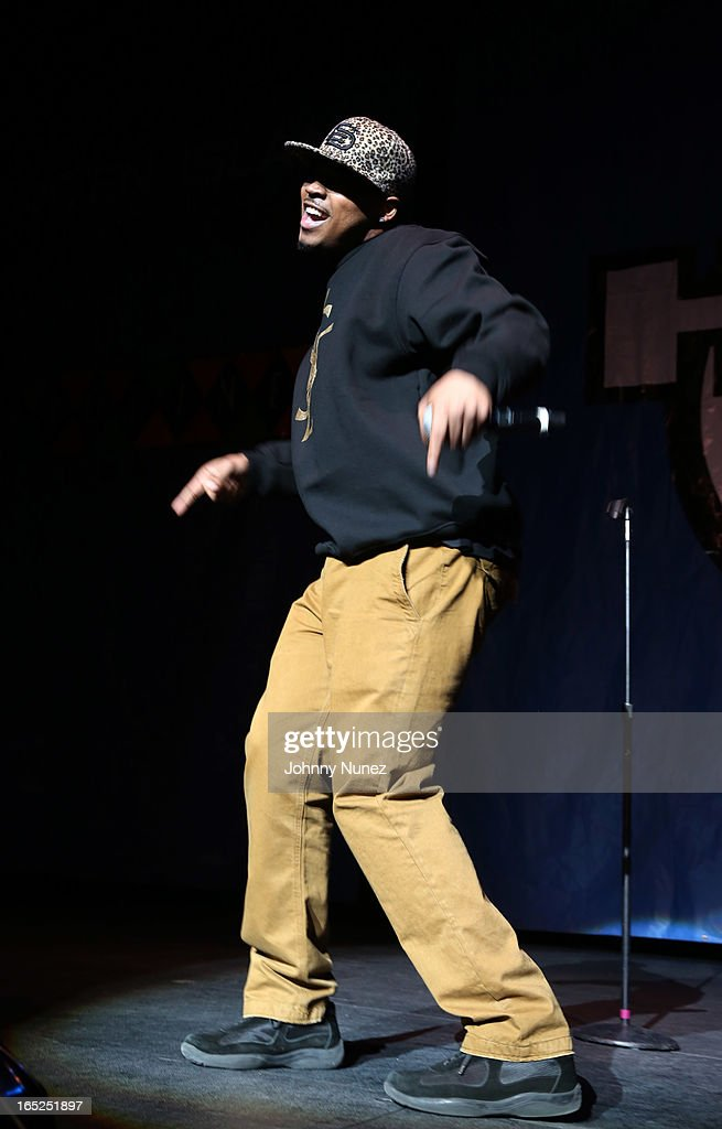 Omar the Comedian performs at Hot 97's April Fool's Comedy Show at The Theater at Madison Square Garden on April 1, 2013, in New York City.
