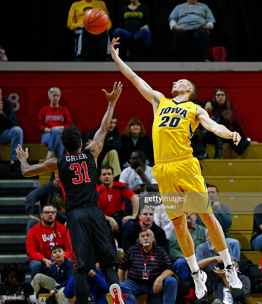 Rutgers Scarlet Knights Basketball Iowa v Rutgers | Getty...