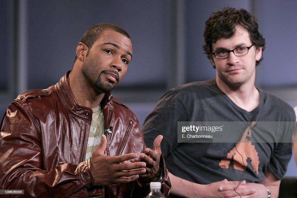 Omari Hardwick and Thomas Everett Scott of 'Saved' 11493_168jpg
