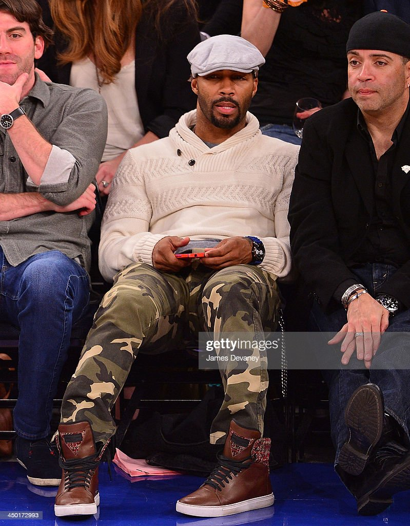 <a gi-track='captionPersonalityLinkClicked' href=/galleries/search?phrase=Omari+Hardwick&family=editorial&specificpeople=4342711 ng-click='$event.stopPropagation()'>Omari Hardwick</a> attends the Atlanta Hawks vs New York Knicks game at Madison Square Garden on November 16, 2013 in New York City.