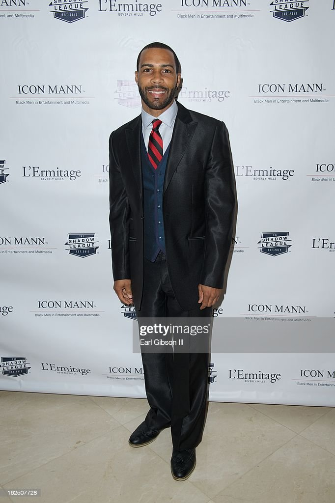 <a gi-track='captionPersonalityLinkClicked' href=/galleries/search?phrase=Omari+Hardwick&family=editorial&specificpeople=4342711 ng-click='$event.stopPropagation()'>Omari Hardwick</a> attends the ICON MANN Pre-Oscar Power 30 Dinner at L'Ermitage Beverly Hills Hotel on February 23, 2013 in Beverly Hills, California.