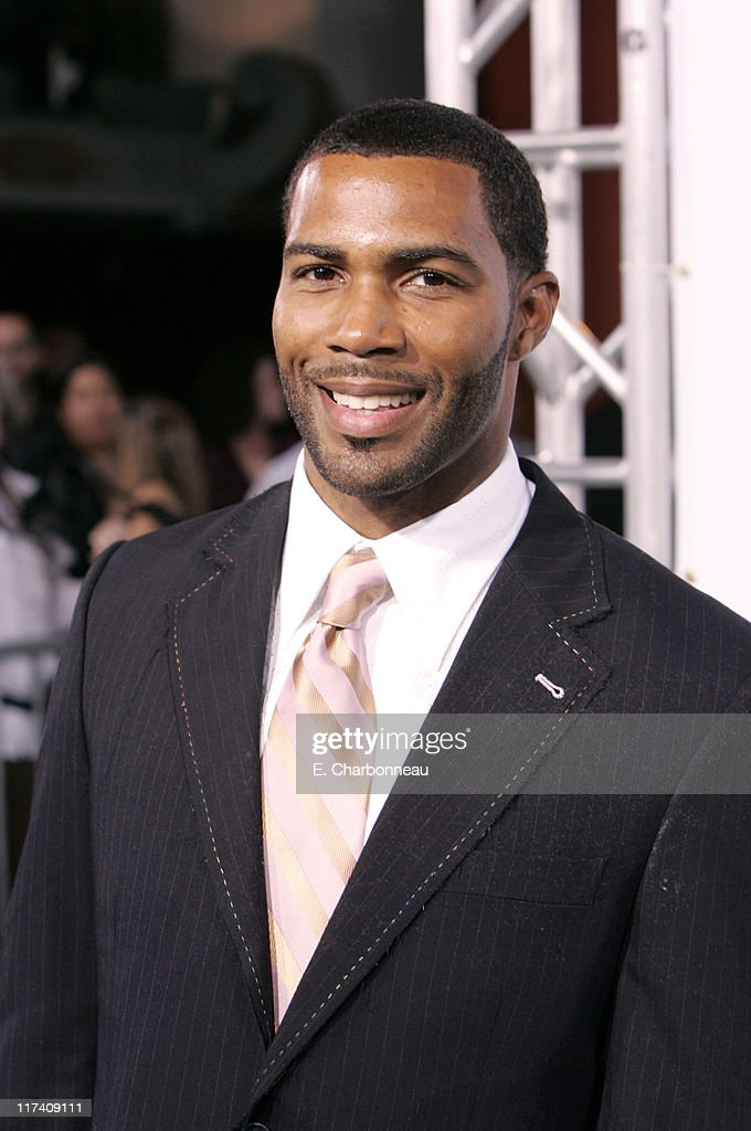 Omari Hardwick during The Los Angeles Premiere of Columbia Pictures' 'Gridiron Gang' at Grauman's Chinese Theatre in Hollywood California United...