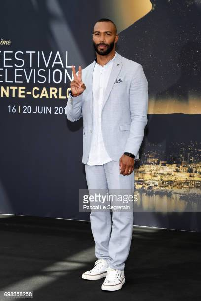 Omari Hardwick from 'Power' attends a photocall during the 57th Monte Carlo TV Festival Day 5 on June 20 2017 in MonteCarlo Monaco