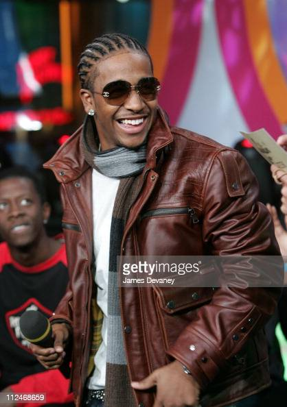 Omarion during Fabolous Omarion and Blink 182 Visit MTV's 'TRL' November 10 2004 at MTV Studios Times Square in New York City New York United States