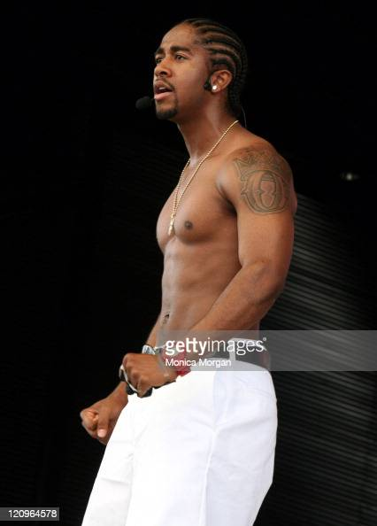 Omarion during HOT 1027 Summer Jamz X at Phoenix Plaza Amphitheatre in Pontiac Michigan United States