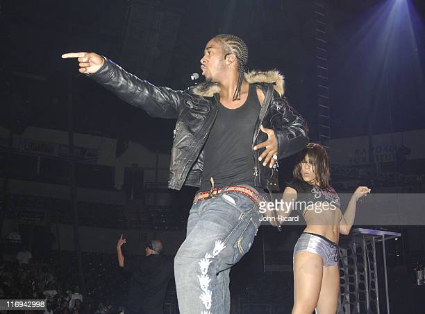 Omarion during Scream Tour IV Kick Off at The Sovereign Bank Arena July 20 2005 at Sovereign Bank Arena in Trenton New Jersey United States