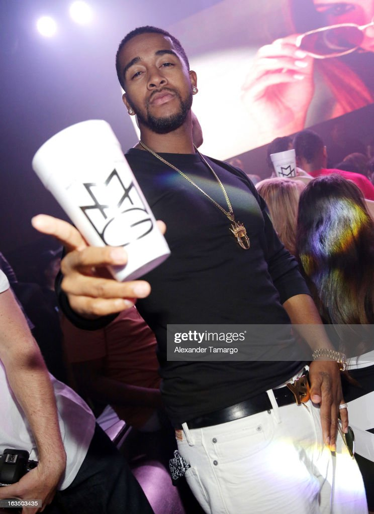 Omarion is seen at the Reebok Classic white party hosted by Rick Ross at LIV nightclub at Fontainebleau Miami on March 10, 2013 in Miami Beach, Florida.
