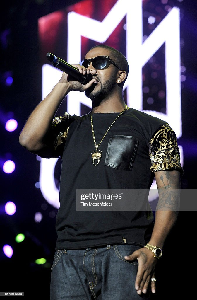 Omarion performs as part of The Maybach Music Group Tour at Sleep Train Arena on December 1, 2012 in Sacramento, California.