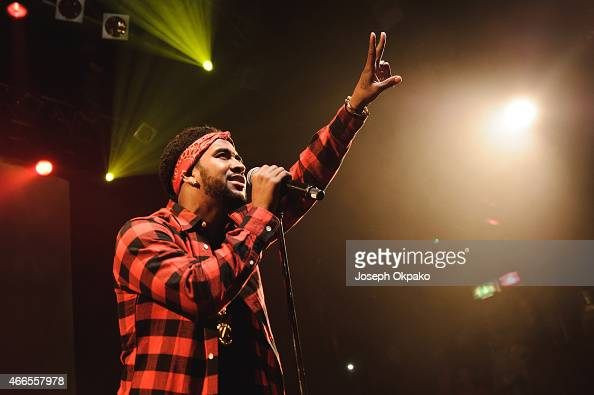Omarion performs at KOKO on March 16 2015 in London England