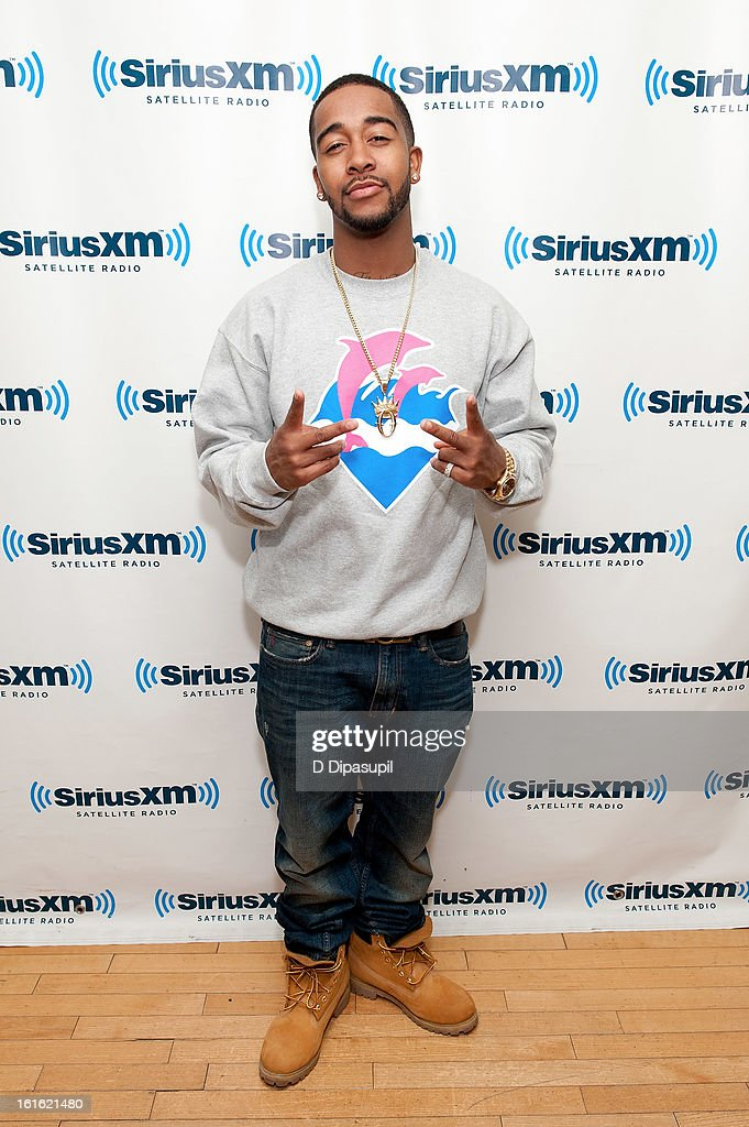 Omarion visits SiriusXM Studios on February 13, 2013 in New York City.