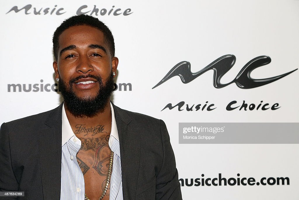 <a gi-track='captionPersonalityLinkClicked' href=/galleries/search?phrase=Omarion&family=editorial&specificpeople=203120 ng-click='$event.stopPropagation()'>Omarion</a> visits 'You & A' at Music Choice on May 1, 2014 in New York City.