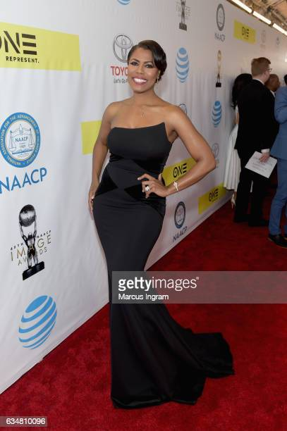 Omarosa attends the 48th NAACP Image Awards at Pasadena Civic Auditorium on February 11 2017 in Pasadena California