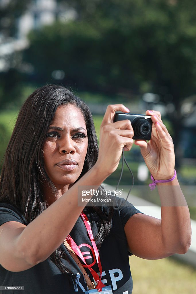Omarosa attends the 50th Anniversary Of Martin Luther King's March On Washington on August 24, 2013 in Washington, DC.
