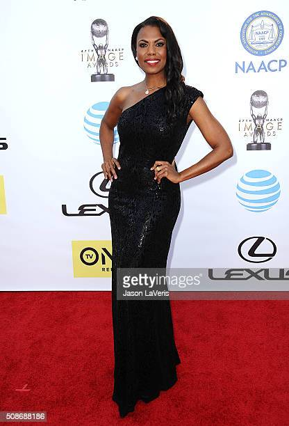Omarosa Manigault attends the 47th NAACP Image Awards at Pasadena Civic Auditorium on February 5 2016 in Pasadena California