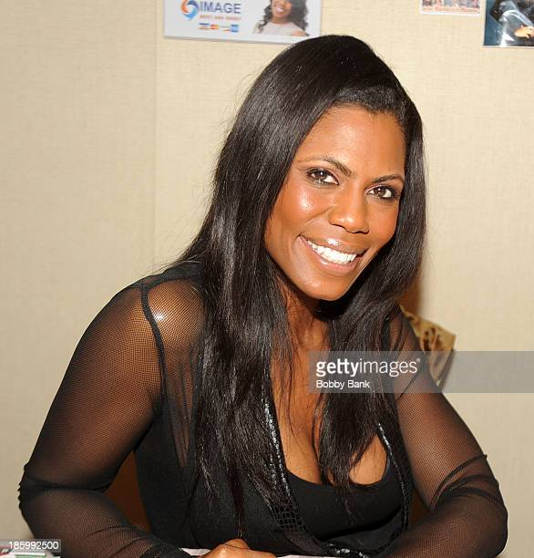 Omarosa Manigault attends the Chiller Theatre Expo at Sheraton Parsippany Hotel on October 26 2013 in Parsippany New Jersey