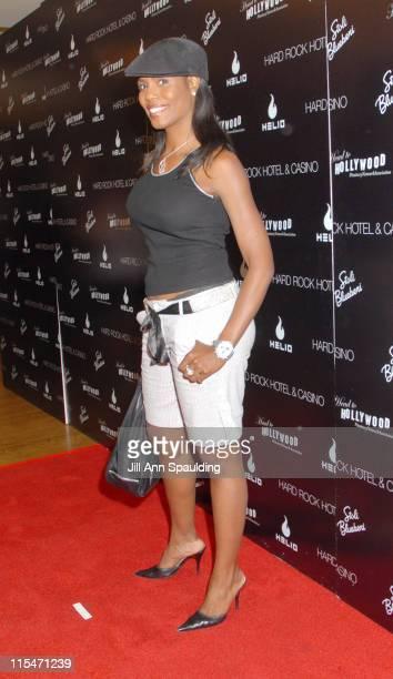 Omarosa Manigault during Carmen Electra Hosts Star Studded Celebrity Charity Poker Tournament June 3 2006 at Hard Rock Hotel Casino in Las Vegas...