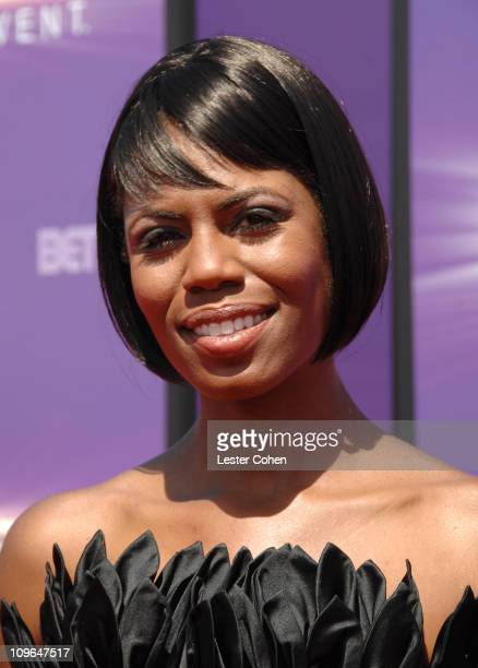 Omarosa Manigault Stallworth during BET Awards 2007 Black Carpet at Shrine Auditorium in Los Angeles California United States