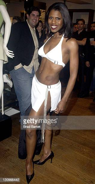Omarosa Manigault Stallworth during Reality Cares 2004 Philanthropist of the Year at Kenneth Cole Store Rockefeller Plaza in New York New York United...