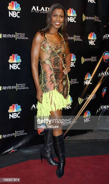 Omarosa ManigaultStallworth during 2004 Radio Music Awards Arrivals at Aladdin Hotel in Las Vegas Nevada United States