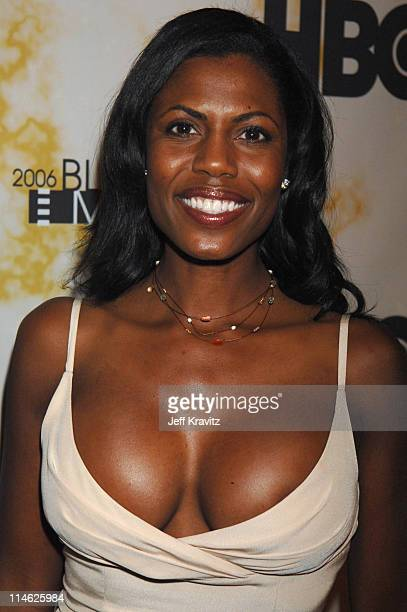 Omarosa ManigaultStallworth during 2006 TNT Black Movie Awards HBO After Party in Los Angeles California United States
