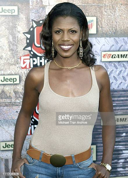 Omarosa of The Apprentice during GPhoria 2005 The Mother of All Videogame Award Shows Arrivals at Los Angeles Center Studios in Los Angeles...