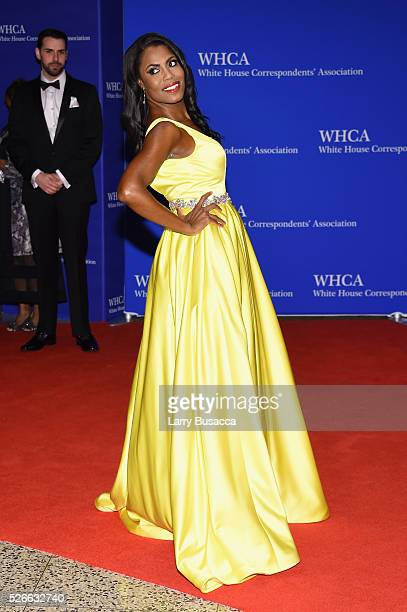 Omarosa Onee Manigault attends the 102nd White House Correspondents' Association Dinner on April 30 2016 in Washington DC
