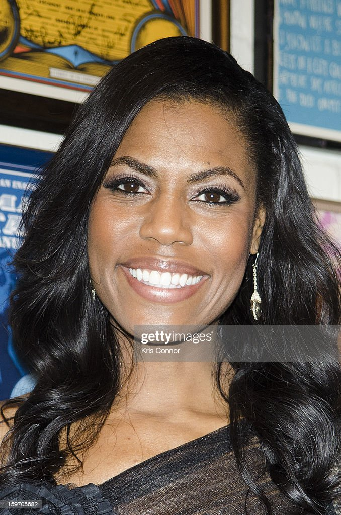 Omarosa poses for a photo during the St. Jude Children's Research Hospital Inaugural Benefit Reception on January 18, 2013 in Washington, United States.