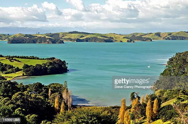 Omaru Bay with Waiheke Island