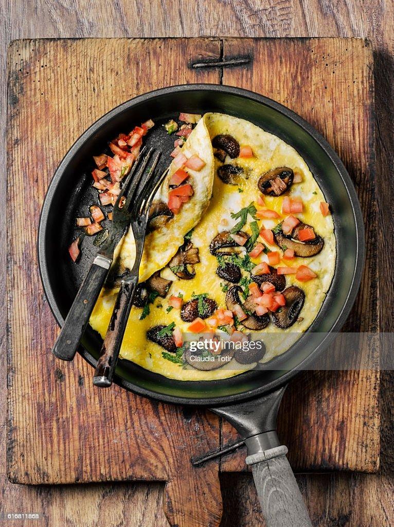Omelette : Stock Photo