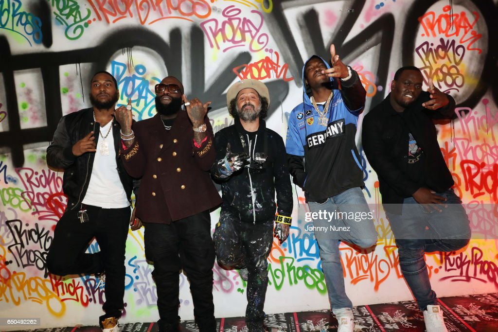 """Rick Ross and Mr. Brainwash """"Rather You Than Me"""" Album Listening Experience"""